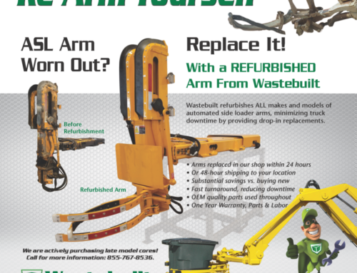 Wastebuilt ASL Arm Rebuild Program